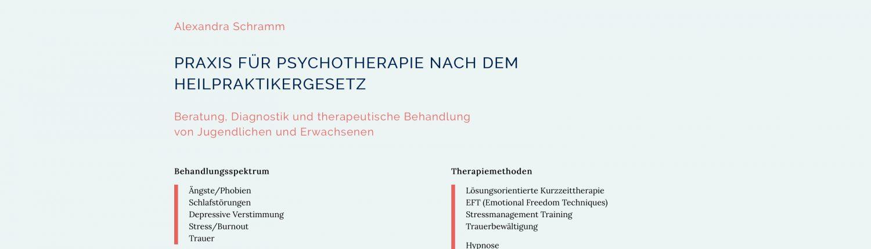 wordpress webdesign webentwicklung aschaffenburg heilpraktikerin psychotherapie