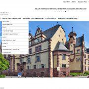 webdesign wordpress schule gymnasium dalberg jochen hilmer designer aschaffenburg