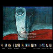 wordpress kalina maloyer frank duval kunst malerei oil-on-canvas jochenhilmer:designer webdesign raumfrankfurt