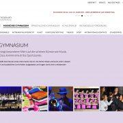 aschaffenburg webdesign wordpress schule gymnasium dalberg jochen hilmer designer