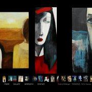 webdesign raum-frankfurt kalina maloyer frank duval kunst malerei oil-on-canvas jochenhilmer:designer wordpress