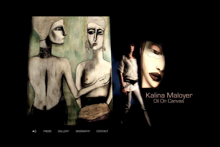 wordpress webdesign raum frankfurt kalina maloyer frank duval kunst malerei oil-on-canvas jochenhilmer:designer