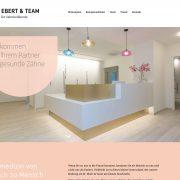 wordpress webdesign webentwicklung zahnarzt praxis dr ebert rhein main aschaffenburg jh-d