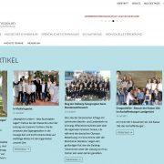 webdesign wordpress aschaffenburg schule gymnasium dalberg jochen hilmer designer