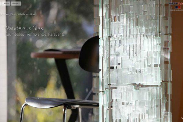 rhein-main frankfurt webdesign wordpress jochen hilmer designer werkhaus glas kunst atelier