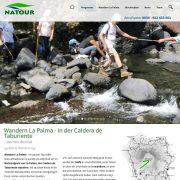 webdesign webentwicklung wandern natour-trekking jochenhilmer:designer wordpress