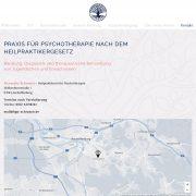 aschaffenburg wordpress heilpraktikerin psychotherapie webdesign webentwicklung