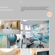 rhein main aschaffenburg jh-d webdesign webentwicklung zahnarzt praxis dr ebert wordpress