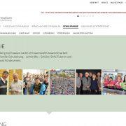 aschaffenburg schule gymnasium dalberg webdesign wordpress jochen hilmer designer